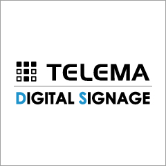 株式会社テレマ デジタルサイネージ