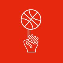 バスケットボールアイコン